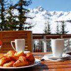 Petit-déjeuner hiver Courchevel