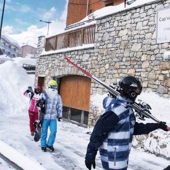 vacances ski tignes groupe