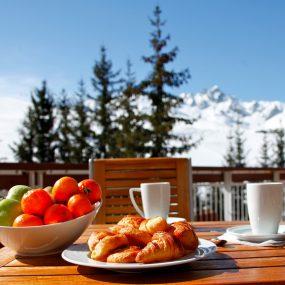 Restaurant Station de ski Miléade Courchevel