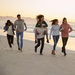 vacances scolaires en groupe à la mer